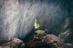 Entrada à caverna Foto de Stock Royalty Free