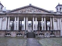 Entrada à faculdade de Greenwich Fotografia de Stock Royalty Free