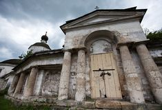 Entrada à igreja Imagem de Stock Royalty Free