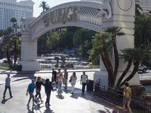 Entrada à miragem Las Vegas imagem de stock