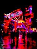 Entrada à vila de Disney em Disneylâandia Paris Imagem de Stock