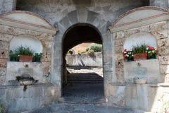 Entrada à vila Verni imagem de stock royalty free