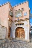 Entrada árabe de la casa del estilo Fotos de archivo libres de regalías
