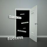 Entrada al éxito libre illustration