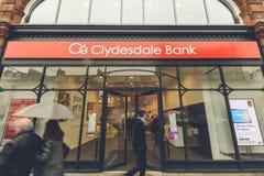 Entrada al banco de Clydesdale Imagen de archivo