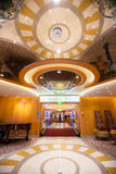 Entrada al casino en Cruiseship Fotografía de archivo libre de regalías