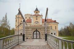 Entrada al castillo Imágenes de archivo libres de regalías