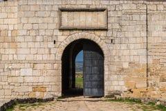Entrada al castillo Imagen de archivo