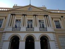 entrada al edificio de la rectoría de la universidad autónoma del estado de México fotos de archivo libres de regalías