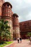 Entrada al fuerte de Agra Fotografía de archivo libre de regalías