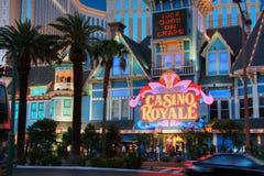 Entrada al hotel de Royale del casino Fotos de archivo libres de regalías