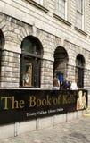 Entrada al libro de Kells Foto de archivo libre de regalías