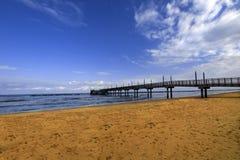 Entrada al mar Foto de archivo libre de regalías