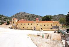 Entrada al monasterio de Gouverneto 1537 en la isla de Foto de archivo libre de regalías