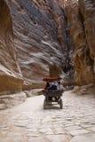 Entrada al Petra Fotos de archivo libres de regalías