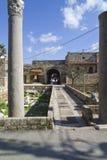 Entrada al Souk viejo en Byblos, Líbano Imágenes de archivo libres de regalías