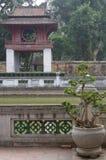 Entrada al templo de la literatura imagen de archivo libre de regalías