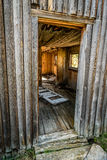 Entrada al viejo hogar del registro Foto de archivo libre de regalías
