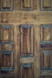 entrada antigua de madera del fondo del vintage marrón fotografía de archivo libre de regalías