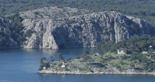 Entrada ao aquatorium de Sibenik filme