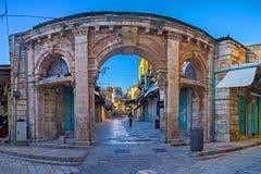 A entrada ao bazar Fotografia de Stock Royalty Free