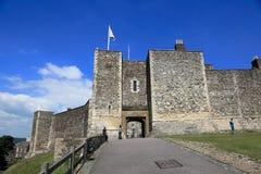 Entrada ao castelo de Dôvar fotografia de stock royalty free