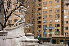 Entrada ao Central Park Imagem de Stock