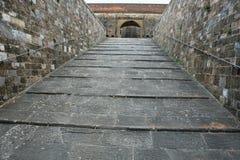 Entrada ao forte di Belvedere em Florença, Toscânia, Itália foto de stock royalty free
