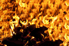 Entrada ao inferno Fotos de Stock