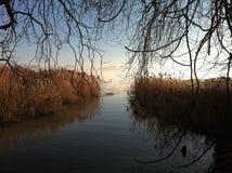 Entrada ao lago Genebra Imagem de Stock