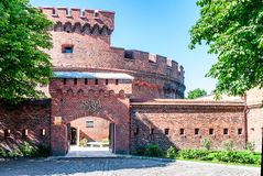 Entrada ao museu ambarino. Kaliningrad Fotos de Stock