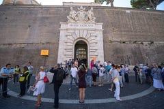 Entrada ao museu de Vatican Imagem de Stock Royalty Free