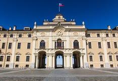 Entrada ao palácio do congresso nacional Foto de Stock