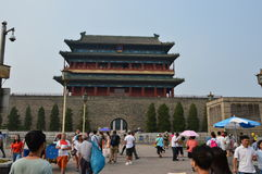 Entrada ao Pequim da Praça de Tiananmen Fotografia de Stock