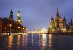 Entrada ao quadrado vermelho, Moscou Imagem de Stock Royalty Free