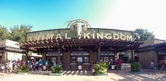 Entrada ao reino animal em Walt Disney World fotos de stock royalty free
