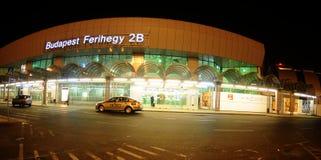 Entrada ao salão no aiport Ferihegy de Budapest Imagens de Stock Royalty Free
