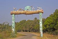 Entrada ao santuário de pássaro de Ranganathittu Foto de Stock Royalty Free