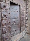 Entrada ao Shaniwar misterioso Wada fotos de stock royalty free