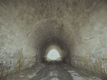 Entrada ao túnel Ponte Imagem de Stock
