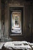 A entrada ao templo fotografia de stock