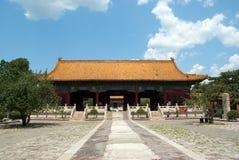 Entrada aos túmulos da dinastia de Ming imagem de stock royalty free