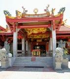 Entrada asiática do templo Fotografia de Stock Royalty Free