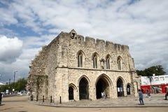 Entrada BRITÁNICA 1290 de Bargate Southampton Imagen de archivo