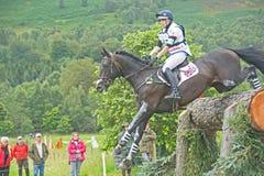 Entrada britânica: Experimentações de cavalo internacionais 2011. Fotos de Stock