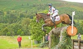 Entrada britânica: Experimentações de cavalo internacionais 2011. Imagem de Stock Royalty Free