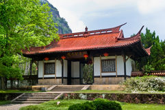 Entrada chinesa do templo Foto de Stock Royalty Free