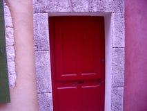 Entrada colorida em Roussillon Imagem de Stock Royalty Free