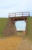 Entrada com ponte Fotografia de Stock Royalty Free