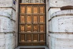 Puertas de oro viejas Fotografía de archivo